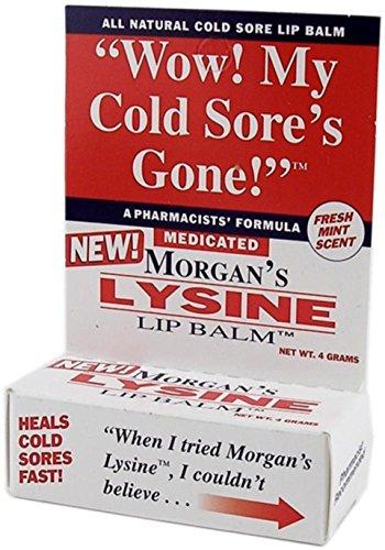 Morgan s Lysine Lip Balm, 0.14 oz Per Tube 4 Tubes