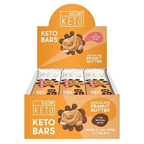 Kiss My Keto Snacks Keto Bars - Keto Chocolate Peanut Butter, Nutritional Keto Food Bars, Paleo, Low Carb/Glycemic Keto Friendly Foods, All Natural On-The-Go Snacks, Quality Fat Bars 3g Net Carbs by Kiss My Keto (Image #10)