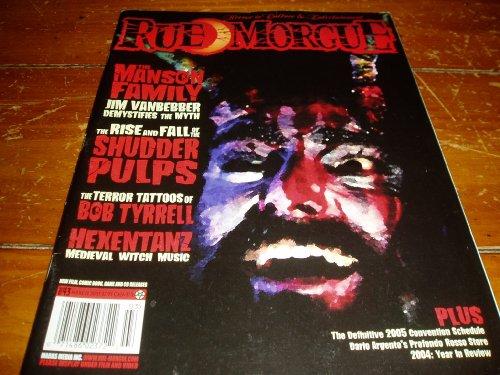 Rue Morgue Magazine Issue # 43 March 2005
