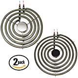 2-Pack Replacement Frigidaire 73-7857-23-02 8 inch 5 Turns & 6...