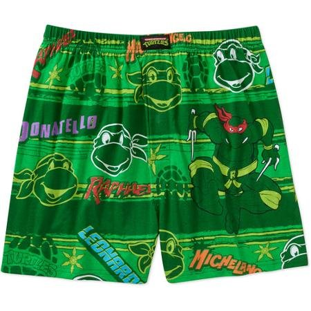 Teenage Mutant Ninja Turtles Licensed Boxer Shorts - Large