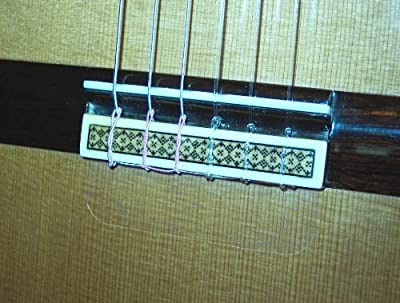 Classical Guitar Soundboard Protector- Static Cling Tie Guard
