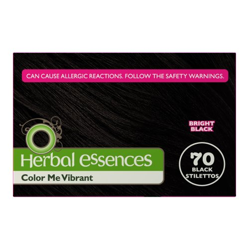 Discount Clairol Herbal Essence Color, 070 Black Stilettos-bright Black (Pack of 3) supplier