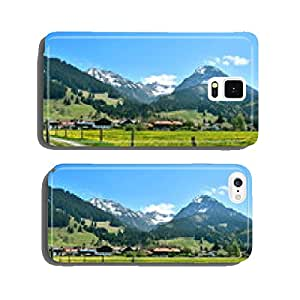 Mountain village in spring cell phone cover case iPhone6 Plus