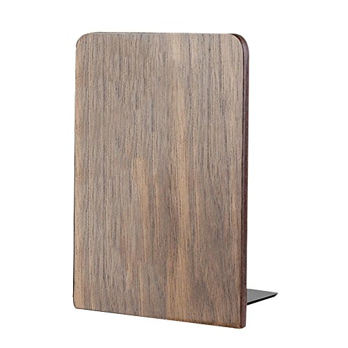 d Black Walnut Storage Bookcase Book Holder Book Stand for Students Office Work ()