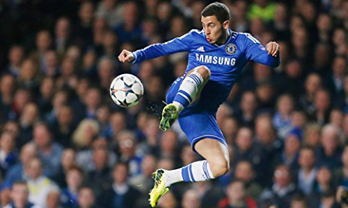 Eden Hazard Fabric Cloth Rolled Wall Poster Print