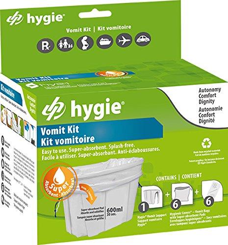 hygie Kit vomitar recipiente de con 6 bolsas vomitoires ...