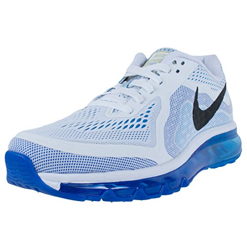 newest 8da4a 18f5e Nike Air Max 2014 Men Shoes WhitePhoto BlueHyper CobaltBlack 621077-104  (SIZE 8.5) - Buy Online in KSA. Shoes products in Saudi Arabia. See Prices  ...