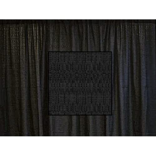 Discount 10 Ft. High x 4 Ft. Wide Banjo Drape Panel (For Pipe and Drape Displays and Backdrops) - Black