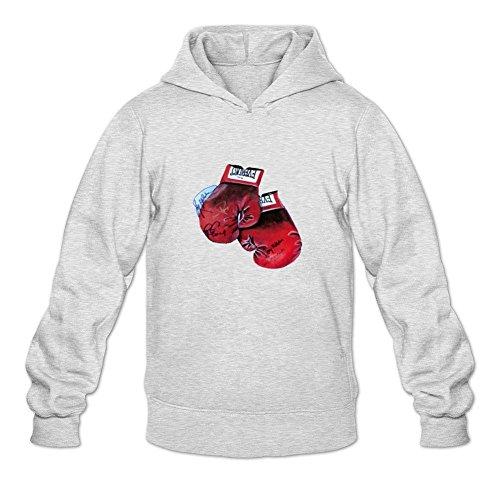 - Owiekdmf Men's Kenny norton Sweatshirt Hoodie XXL Light Grey