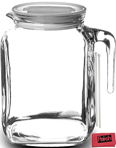 Hermetic Glass Pitcher Homemade Bottles product image