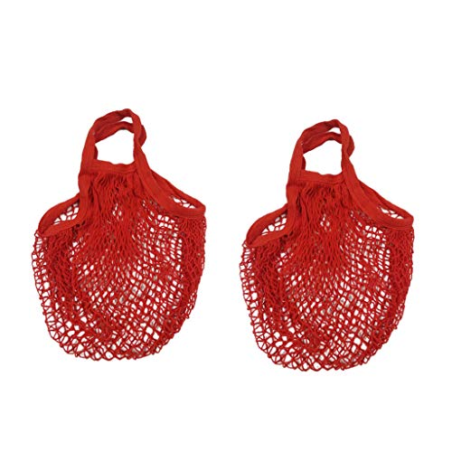 Lemoning , Mesh Net Turtle Bag String Shopping Bag Reusable Fruit Storage Handbag Totes New ()