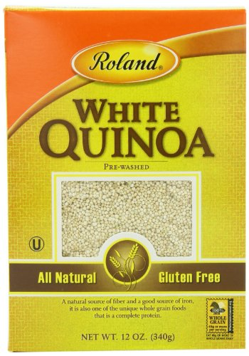 Roland Quinoa, White, 12 Ounce (Pack of 12) by Roland