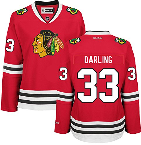 Scott Darling Chicago Blackhawks Home Red Women's Premier