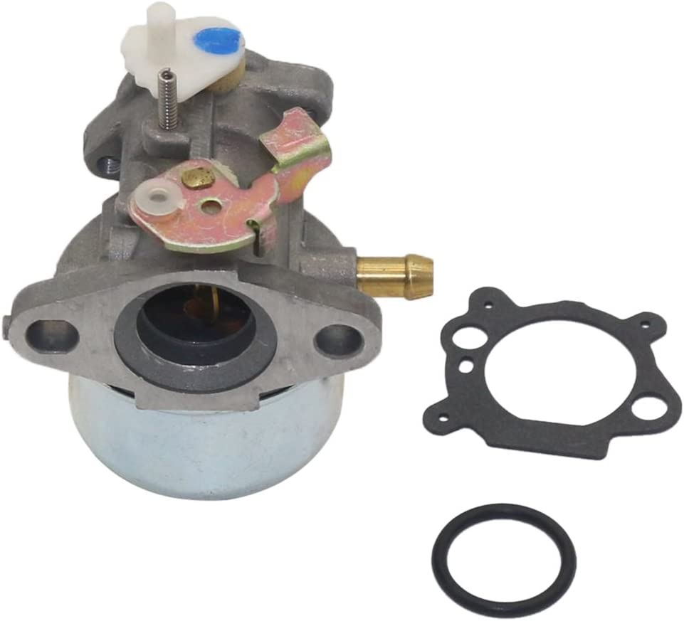 Sharplace Carburateur R/éservoir de Carburant Pi/èce Rechange Tondeuse pour Briggs Stratton