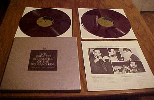 The Greatest Recordings of the Big Band Era (Archive Collection) Glenn Miller, Will Bradley, Orrin Tucker and Don Redman (Two Red Vinyl Album Records) Box Set with Booklet (Franklin Mint)