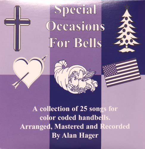 Hager Special Occasions Song Book for Bells with CD (25 Songs; All Ages) by Westco