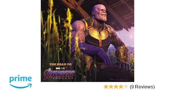 Amazon.com: The Road to Marvels Avengers: Endgame - The Art ...