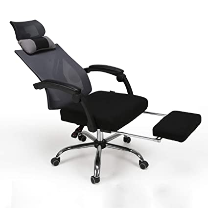 Ordinaire Hbada High Back Ergonomic Recliner Mesh Office Chair With Adjustable  Headrest Pullout Footrest, Black