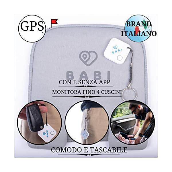 Babi Alert il portachiavi intelligente per dispositivo anti abbandono seggiolino auto Babi by CappyToppy Monitoraggio… 3