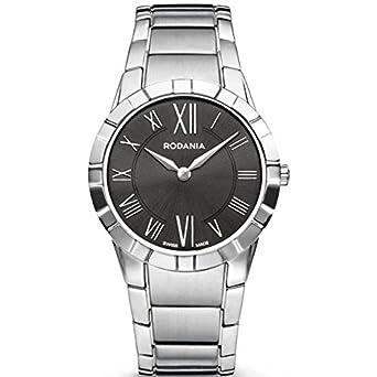 Rodania Swiss Damen-Armbanduhr Salina Analog Quarz Edelstahl RS2507947