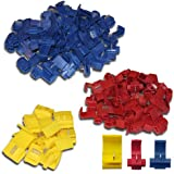 K24 4250830811383 Set : 100 connecteur de dérivation 50 x Bleu – 40 x Rouge – 10 x Jaune