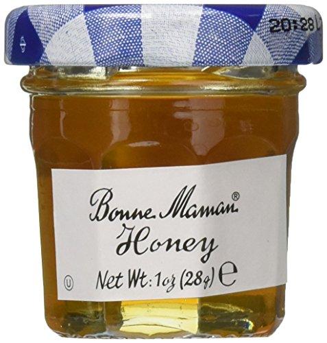 Bonne Maman Mini Preserves - Honey - 1oz (60 count) - Kosher - Jar Favors Honey Wedding