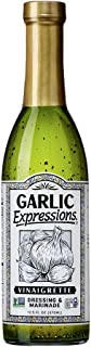product image for Garlic Expressions Vinaigrette Salad Dressing, Marinade | Non GMO, Vegan, Kosher, Allergen and Gluten Free Garlic Oil Vinaigrette Dressing Made with Hand-sorted Whole Fresh Garlic Cloves