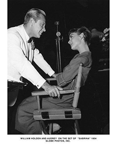 Premium Photographic Print Director (Globe Photos ArtPrints William Holden And Audrey Hepburn On The Set Of Sabrina - 8