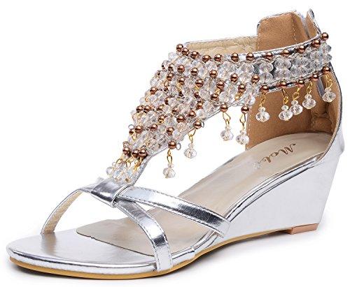 Aktuelle Damen Freizeitschuhe Schuhe Keilabsatz Wedges Sneakers 9004  Schwarz 37