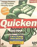 Software : Quicken Home & Business 98