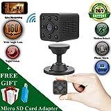 [NIGHT VISION] WiFi Mini Surveillance Camera - Wide Angle - 1080P HD - Portable - Motion Detection Alerts - Hidden Camera - Indoor Security Camera - Baby Monitor