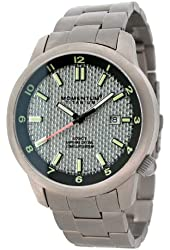 Momentum Men's 1M-SP20S0 Logic Ti Analog Titanium & Carbon fibre dial Watch