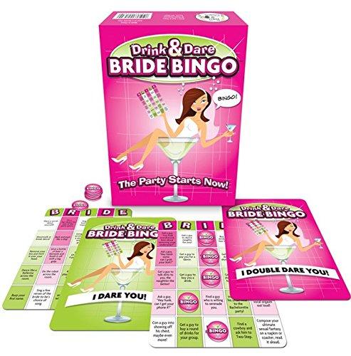 DRINK & DARE BRIDE BINGO by Ball & Chain