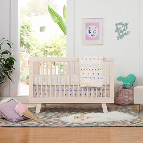 51 kjBbFn7L - Babyletto Hudson 3-in-1 Convertible Crib With Toddler Bed Conversion Kit In Washed Natural, Greenguard Gold Certified