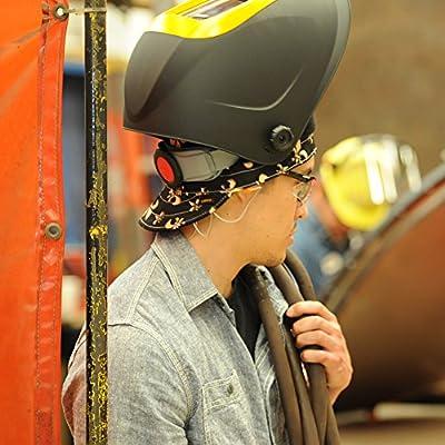 Jackson Safety 370 Replacement Headgear (20696), Adjustable Jackson Welding Helmet Parts, Black and Gray: Welding Helmets: Industrial & Scientific