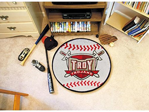 Wholesale FanMats Troy University Baseball Mat 26 diameter, [Collegiate, Other Colleges] by Bigbolo (Image #1)
