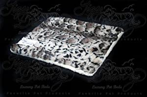 """Tiger Dreamz Luxury Bed - 24""""x19"""" - Clouded Leopard 85%OFF"""