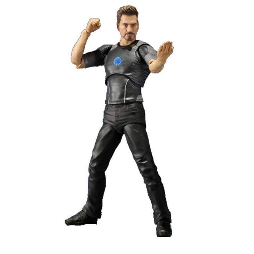QRFDIAN The Avengers Iron Man Tony Starks vierbeiniges, bewegliches Figurenspielzeug 17cm
