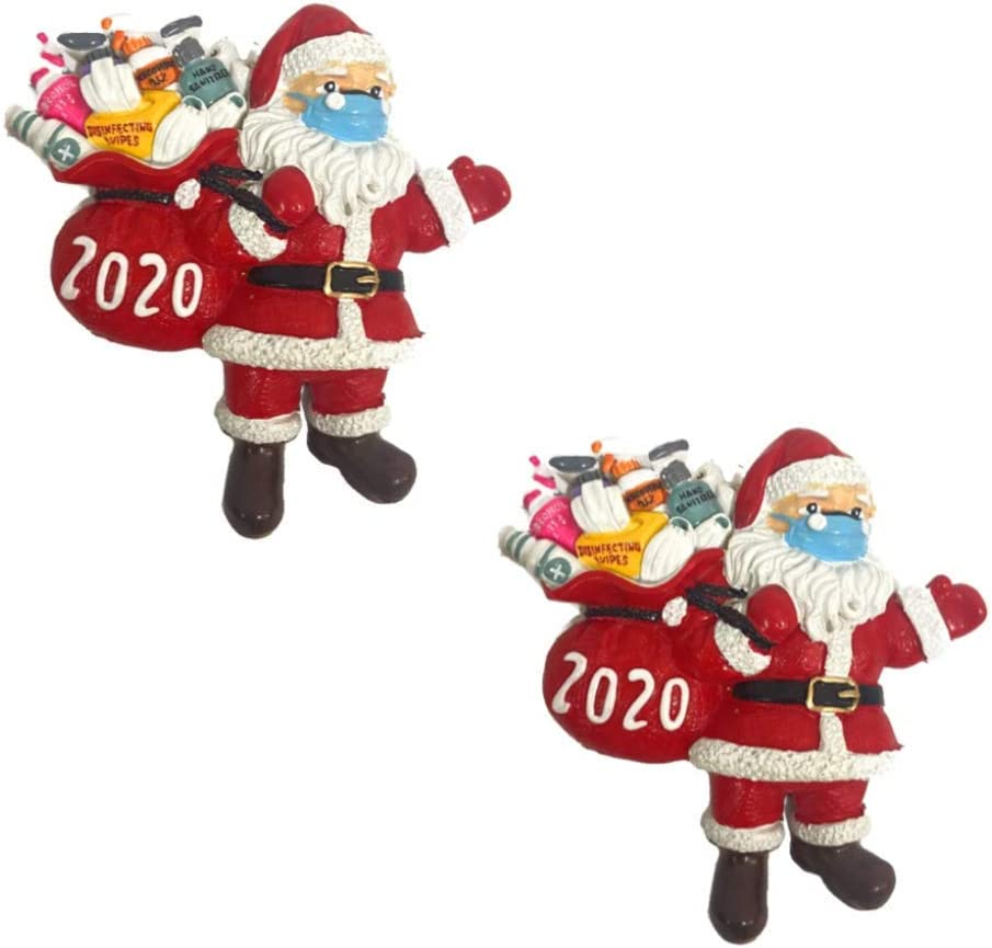 Christmas Decorations Hanging Ornaments, 2020 Christmas Tree Ornament Decor, Home Decor Doll Gifts, Personalized Family Decor Kit (4,5,6 Person) (6) …