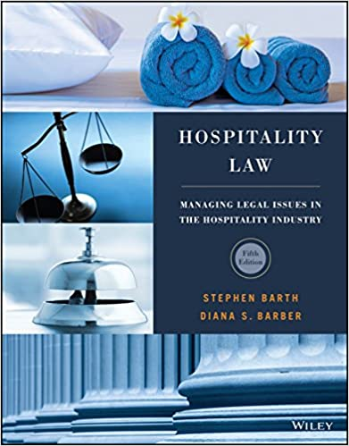 Amazon hospitality law managing legal issues in the hospitality law managing legal issues in the hospitality industry 5th edition kindle edition fandeluxe Choice Image