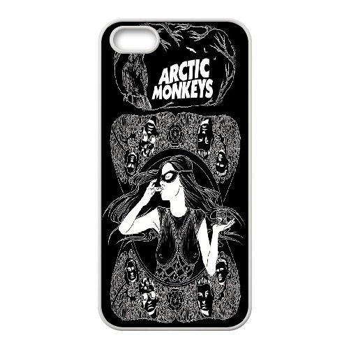 High quality Arctic Monkey logo, Rock band music,Arctic Monkey band protective case cover For Apple Iphone 5 5S Cases QH596718225