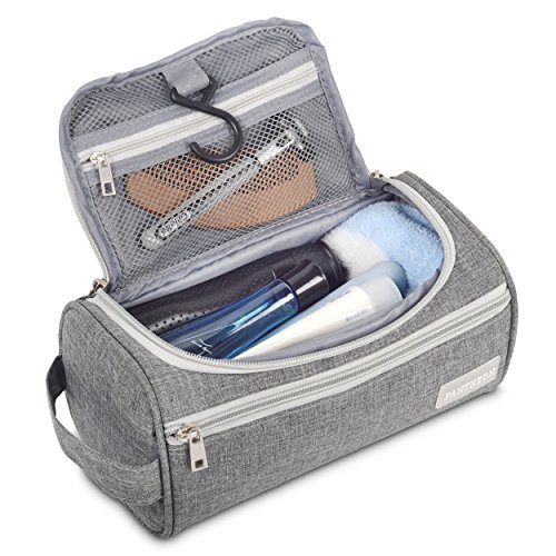 ac6606ee0c4b Pantheon Toiletry Organizer Wash Bag Hanging Dopp Kit Travel for Bathroom  Shower
