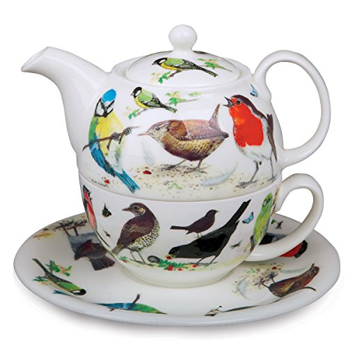 Roy Kirkham Garden Birds Teapot for One ()