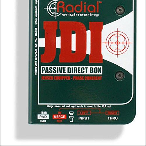 Radial JDI Passive Direct Box with Jensen Transformer