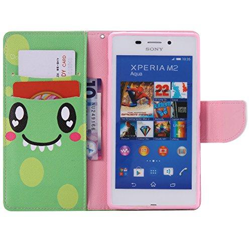 Samsung Galaxy S6 Edge Plus Funda Tipo Cartera,PU Cuero Suave Interior Parachoque Carcasa Cierre Magnético Ranuras para Tarjetas Bolsa de Dinero Feeltech [Libre 2 en 1 Aguja] Híbrido con Función de So Cara Sonriente