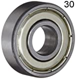 Thirty (30) 608ZZ 8x22x7 Shielded Greased Miniature Ball Bearings