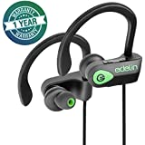 Edelin Bluetooth Headphones - Wireless Earbuds with Mic HD Stereo Noise Cancelling Waterproof IPX7 for Sport