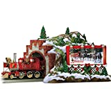 (US) Budweiser Christmas Train Accessory: Mountain Tunnel by Hawthorne Village