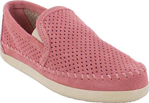 Desert Toe Minnetonka Pacific Loafers Round Rose Suede Womens wxx7q8Yv